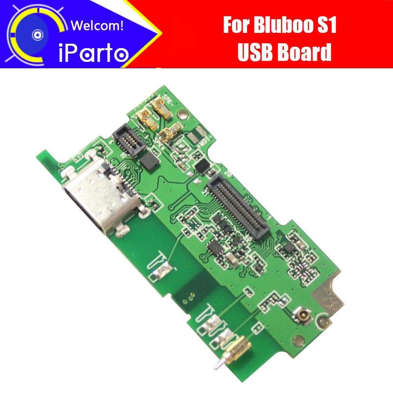 Bluboo S1 Плата USB 100% оригинал новый для USB <font><b>Plug</b></font> заряд Замена платы Интимные аксессуары для S1 Телефон