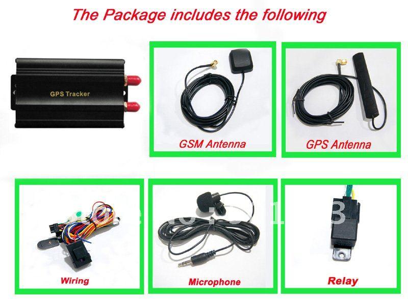 Positionnement et surveillance globaux de traqueur de GPS de voiture