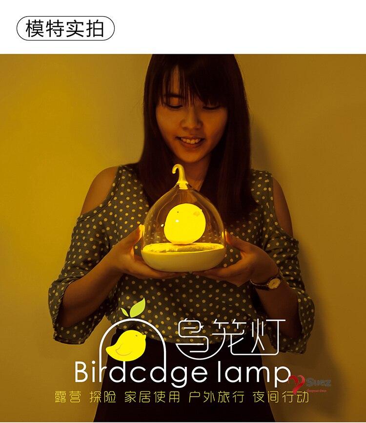 Creative Bird Cage Lamp NOT ( Plasma Ball Lava Luminaria Abajur Minecraft Led Lamp Mecheros Sensor Movement Lampada Led Puzzle)