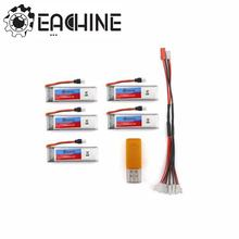 Eachine E50 RC Quadcopter Spare Parts 5Pcs 3.7V 500mah Battery And USB Charger Cable(China)
