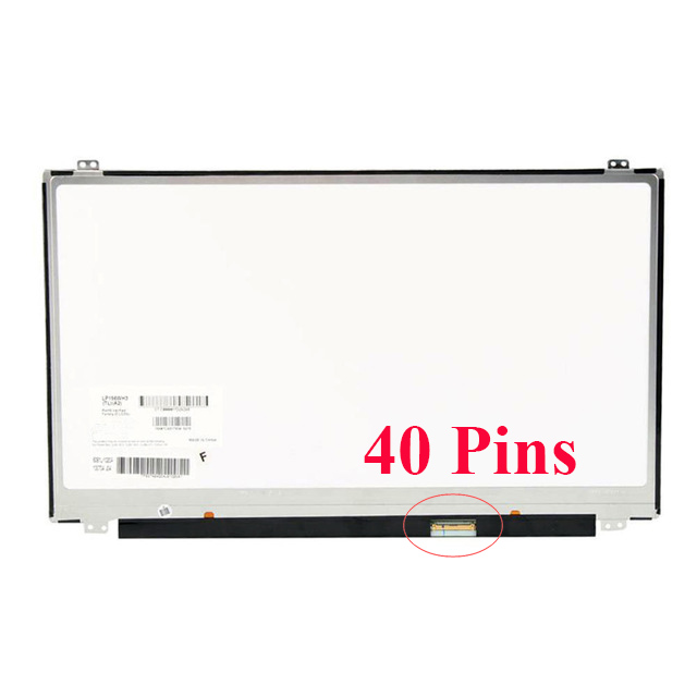 15 6 slim laptop lcd screen for asus x555l series led lcd display schermo screen 40 pin 1366 768