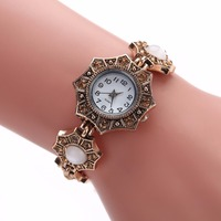 2018 New Fashion Hot Selling Stainless Steel Female Watch Vintage Watch Women Dress Watches With Free