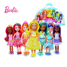 barbie Original Mini Dolls  1 Pcs Model Random Cute Toy For Girl Birthday Children Gifts Fashion Girls DWJ33