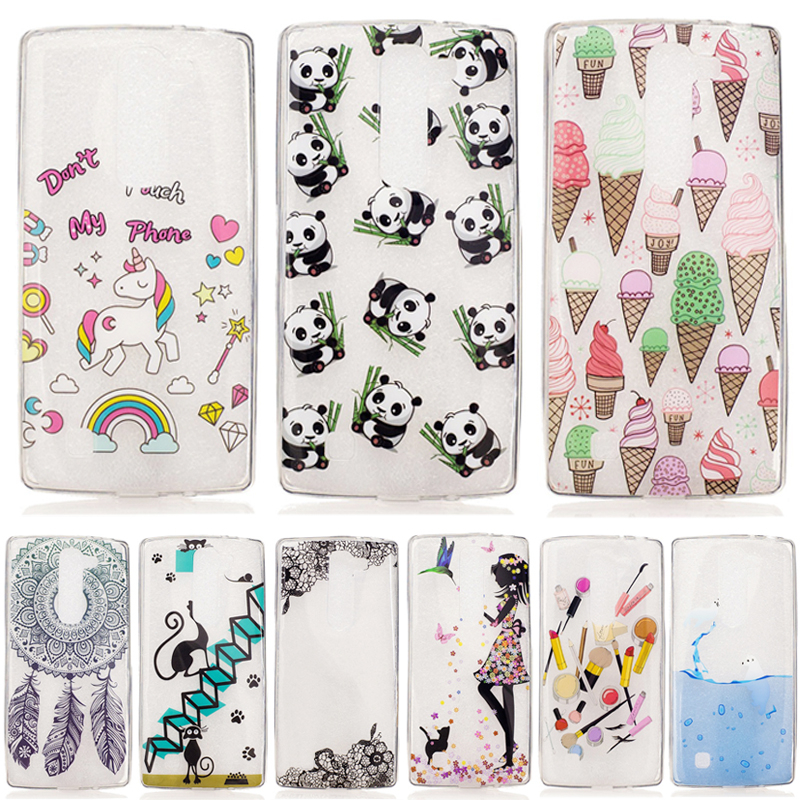 For Coque LG G4 Mini H525N Case Silicone For LG G4C Phone Cases TPU Soft Cover For Funda LG Managa C90 Phone Back Cases luxury