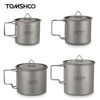 Lixada Campimg титановая кружка для воды, посуда для пикника, походная посуда, походная посуда, столовые приборы, набор посуды для напитков