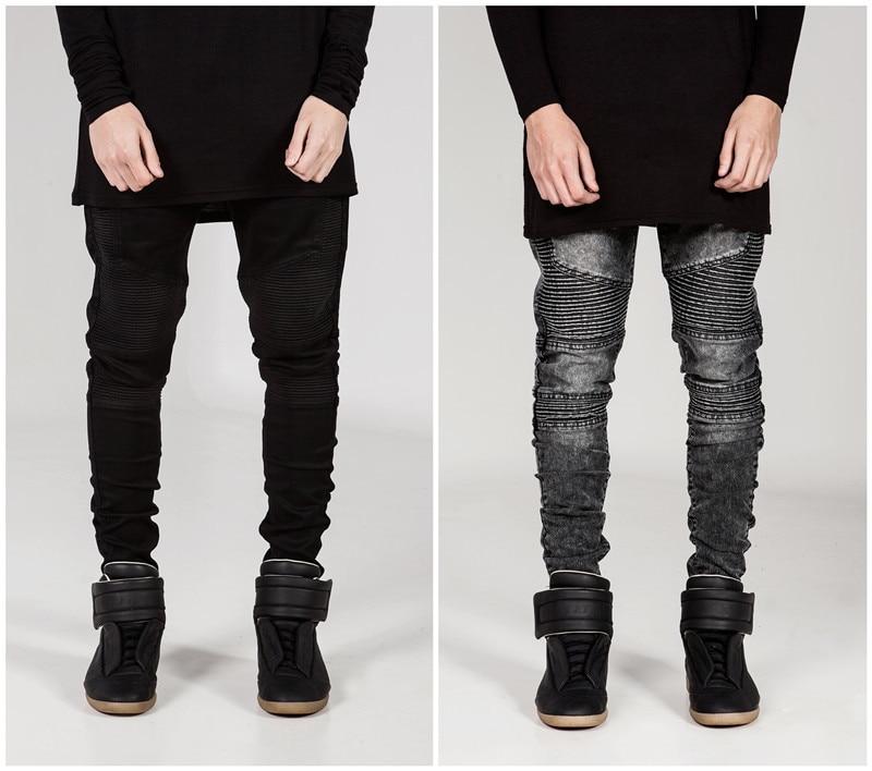 CHENXUAN Fashion Street Motorcycle Designer Mens men Skinny Denim Biker Jeans Joggers Hip Hop Swag Cloth