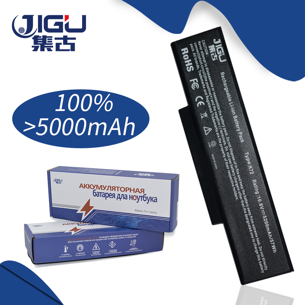 JIGU [Special Price] New Laptop <font><b>Battery</b></font> For <font><b>Asus</b></font> A72 K72 <font><b>K73</b></font> N71 N73 X77 Series, Replace: A32-K72 A32-N71 image
