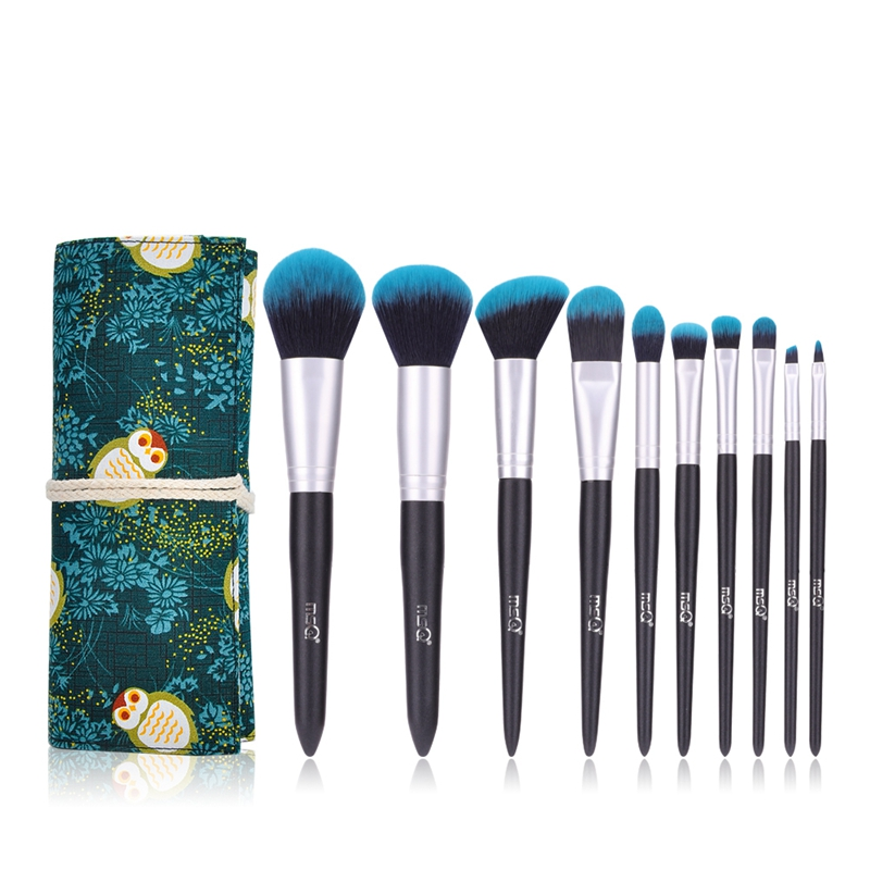 Eyeshadow Makeup-Brush-Set Msq Cosmetic-Tools Foundation Blush Synthetic-Hair Luxury