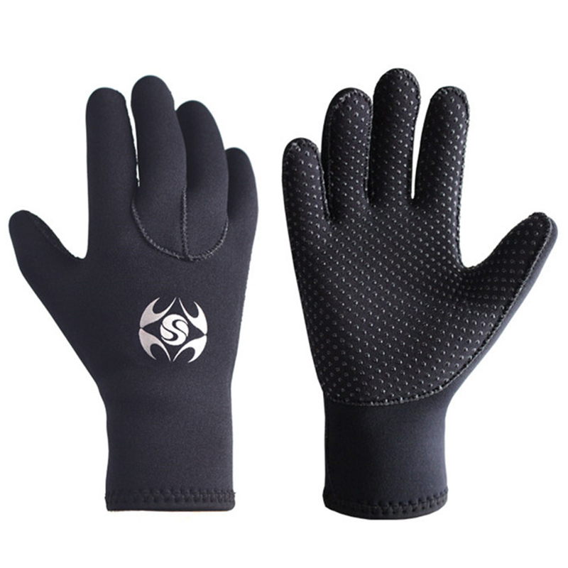 3mm Neoprene Swimming Diving Gloves Spearfishing Wetsuit Winter Warm Men Women Gloves