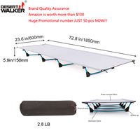 2 8LB Camping Mat W60 L185CM Ultralight Folding Bed Weight Limit Of Measure 440LB Perfect Hiking