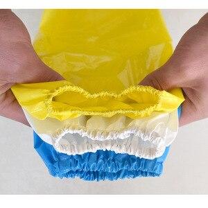 Image 3 - 1Pcs עמיד למים שמן עמיד TPU זרוע שרוולי עבודת בטיחות עבור הקצב פישר בית נקי ידיים הגנה לשימוש חוזר Armband