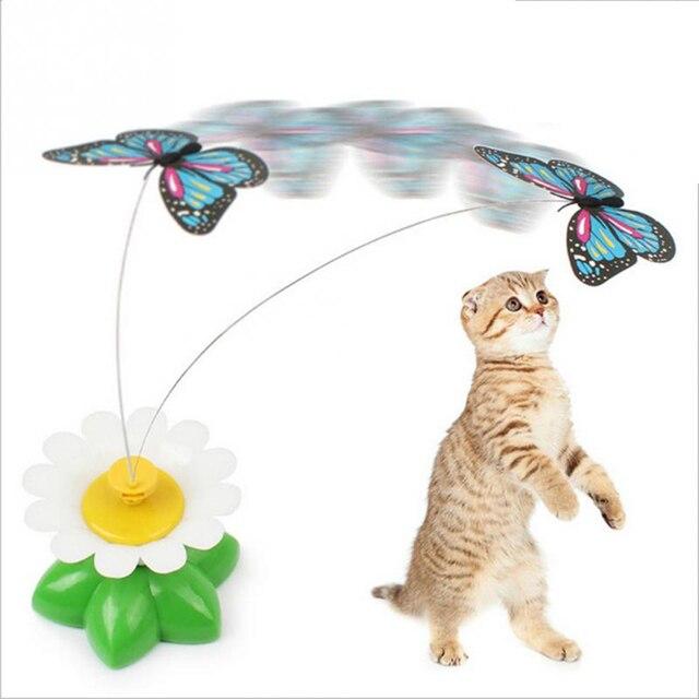 jouet chat electrique