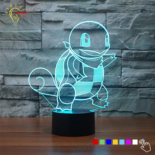 aliexpress koop touch schakelaar 3d tafellamp blauw le