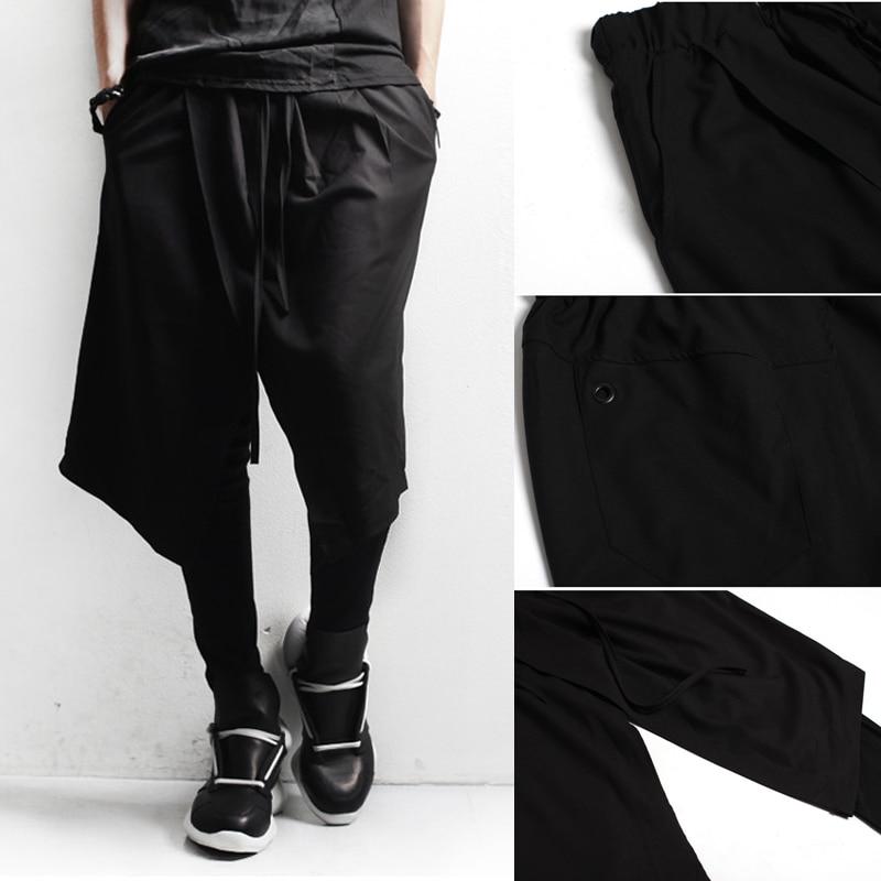 mens clothing boot cut pants men trend of work wear costumes male pants skirt novelty harem pants casual pants pantalon homme