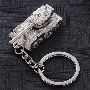 Creative-Man-Car-Key-Ring-World-of-Tank-Waist-Hanging-Buckle-Gift-Male-Keychain-Men-Accessories (1)