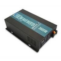 純粋な正弦波パワーインバータ 3000 ワット 12 V 220 V ソーラーパネルインバーター発電機電圧レギュレータ 12 V/ 24 V/48 dc 120 V/230 V/240 V AC