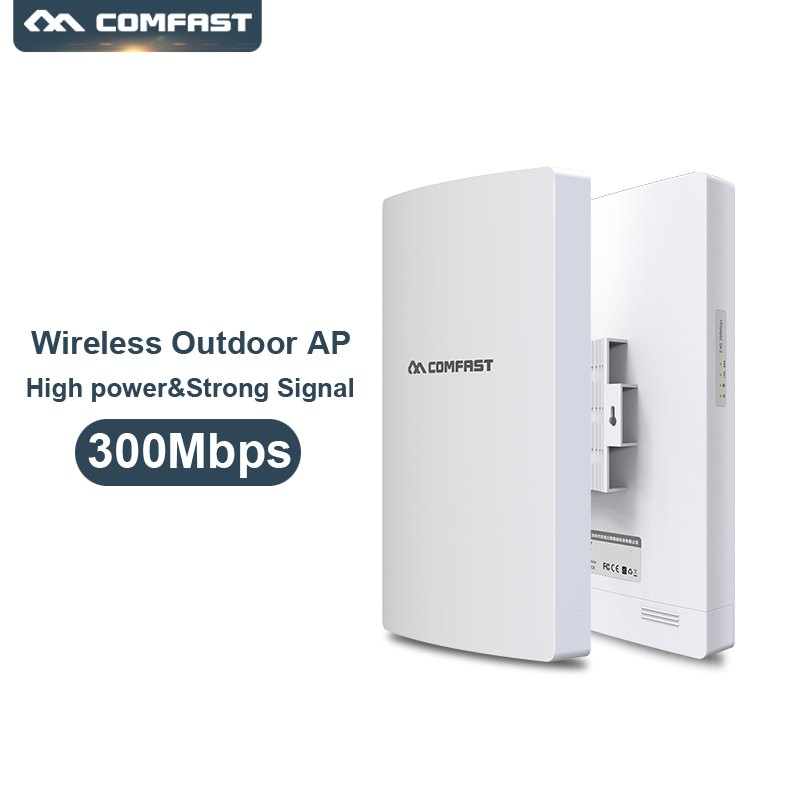 Comfast WA300-V2 3000Mbps 2.4GHz Wireless Outdoor AP High Power Wifi Signal Amplifier Long Distance WiFi Coverage Wifi Extender