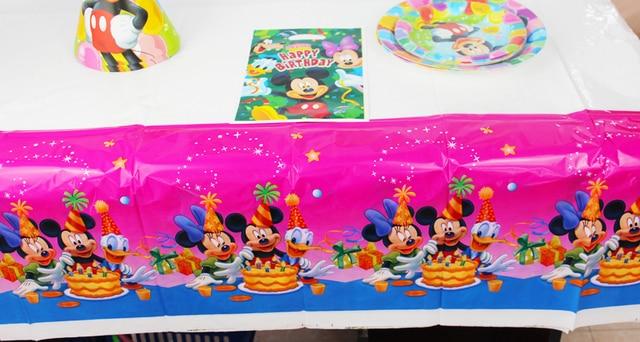 Aliexpresscom Buy Mickey Theme Boy Girl Birthday Party Decoration