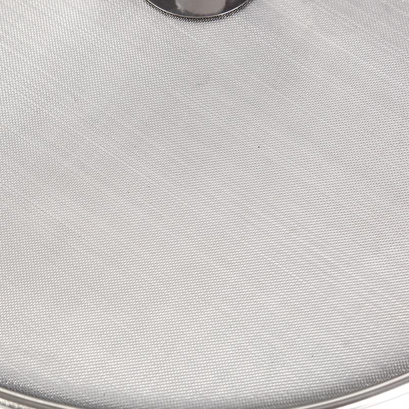 Серебристый цвет нержавеющая сталь серебро маслостойкая сковорода крышка защита от проливов защита от брызг крышка