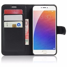 For Meizu Pro 6 Case Luxury PU Leather Back Cover Case For Meizu Pro 6 Pro6