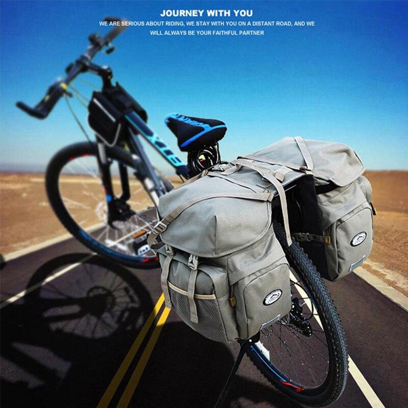 Местное Лев Велоспорт велосипед сумки Mountain сумка велосипед стойку сумки Водонепроницаемый велосипед мешок сзади Паньер заднем сиденье баг