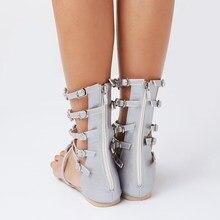 women sandal 2017 fashion summer women shoes sandals with rhinestones sandalia feminina women shoes plus size 43 Crystal