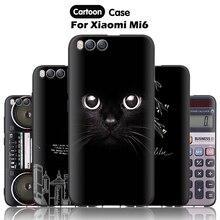 JURCHEN Mobile Case For Xiaomi Mi6 Case For Xiaomi Mi 6 M6 Cover Cartoon Paint TPU Soft Silicone For Xiomi Mi6 Case Cover 30
