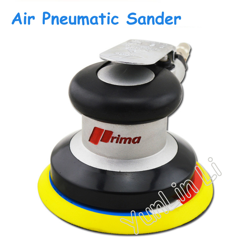 5 Inch Air Pneumatic Sander Self Vacuum Pad Polisher Grinding Machine Polishing Machine Sanding Tools