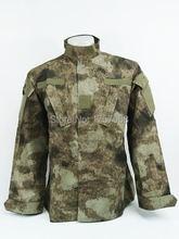 Камуфляжный костюм в стиле милитари комплект из рубашки и штанов