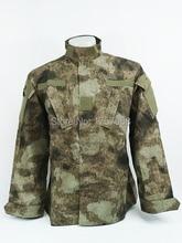 Military Camouflage A-TACS Camo ACU Style Uniform Set A-TACS Camo Shirt and Pants