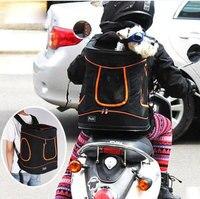 Сетка голову pet carrier дышащий собака рюкзак собака вне дорожная сумка Портативный сумка кошка Сумки 43.5*35*34.6 см зеленый розовый черный
