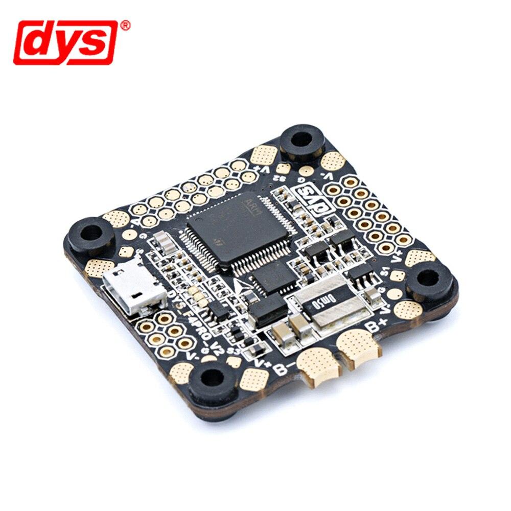 Contrôle de vol DYS F4 PRO V2 Betaflight avec 5 V/3A 9 V/1,2a BEC intégré circuit de protection intégré connexion de câble plat OSD - 3