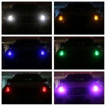 4 pcs T10 LED 12S Bulb 5050 Chip 5SMD W5W 194 168 LED Car Light Bulbs for Automobile Reading White Amber Blue Car Auto Light 10