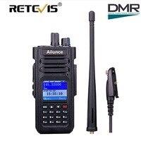 Dual Band DMR Ham Radio Retevis Ailunce HD1 GPS Digital Walkie Talkie 10W VHF UHF Ham
