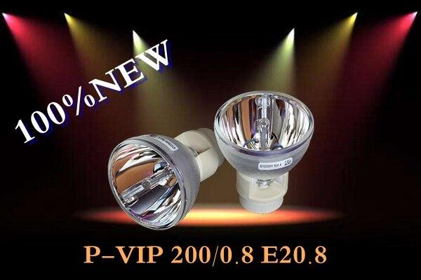 все цены на 100% New Original Projector Lamp Bulb P-vip 200W 0.8 E20.8 for Acer S1200 онлайн