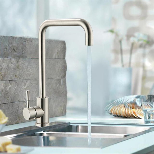 Modern style 304 stainless steel cottage faucet hot and cold ...