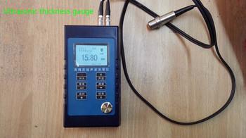 Ultradźwiękowy miernik grubości 0 65-500mm możesz o nich nadmienić 0 01mm tanie i dobre opinie Brak minihua HD260