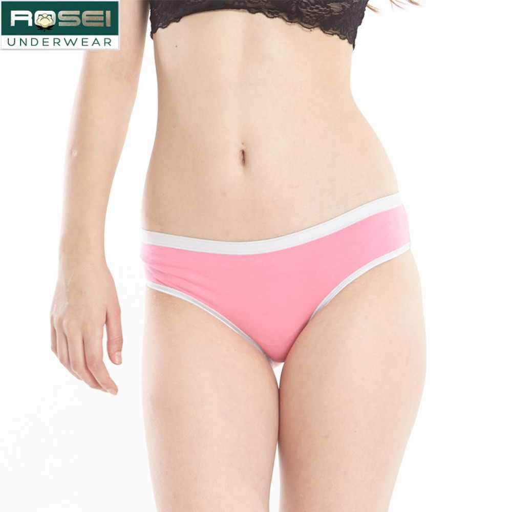 adb982e885 Refined cotton women briefs panties soft ladies underwear plus size briefs  sexy seamless girl panties breathable