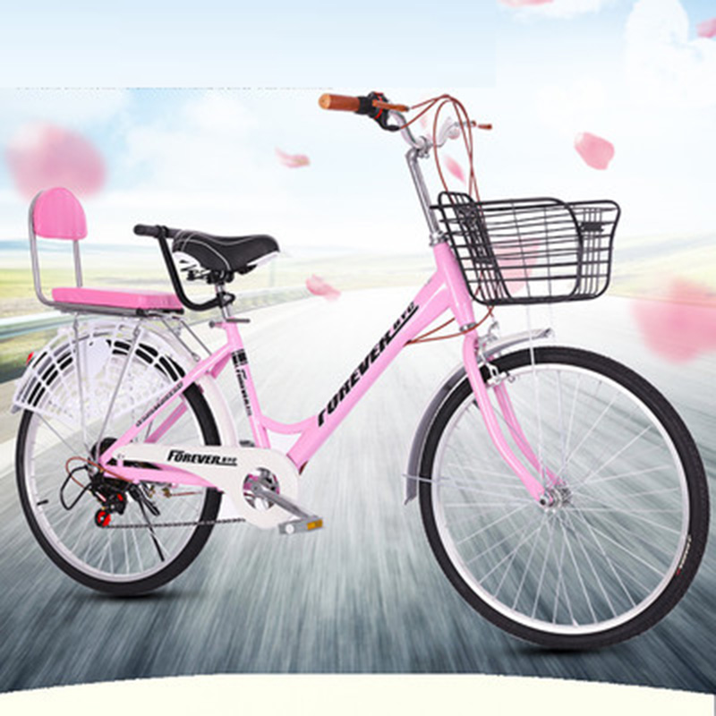 Discount 26 Inch Speed Change Adult Bicycle Male And Female Student Bicycle Ordinary Bicycle 4