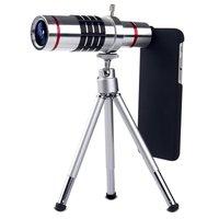 Elikliv Mobile Téléphone 18x Caméra Optique Télescope 25mm Grande Lentille Portable Télescope