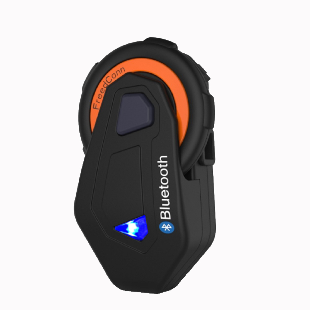 FreedConn New 1500M Full Duplex Bluetooth Intercom Motorcycle Interphone Riding Headset At The Same Time Intercom System with FM