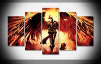 7193 league of legends kayle Poster wood Framed Gallery wrap art print home wall decor Gift wall picture Already to hung