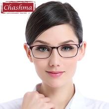Chashma Brand Student Frames TR90 Material Light Flexible Eye Glasses Women and Men Fresh Simple Design
