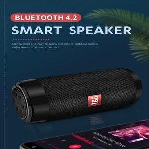 Image 2 - ポータブル Bluetooth ミニスピーカーラジオ防水ワイヤレス Bluetooth スピーカーステレオスピーカー