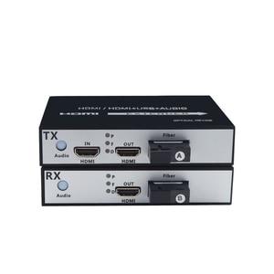 Image 1 - 1 Đôi 1 kênh 1 trong 2 CỔNG ra HDMI Quang Bộ Chuyển Đổi 1080 P HDMI Cáp Quang Video Mở Rộng HDMI video Thu Phát quang nhà ga