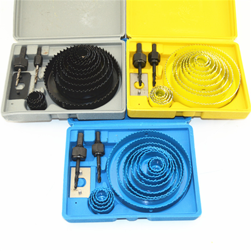 Wood Hole Saw Cutter Kit Set For Wood Drilling HSS Core Drill Bit Cutter 75 coreless drill bit well drilling pdc drag bit for mining drilling bit geological exploration