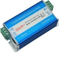OVP Gigabit network power supply 2 in 1 ground free lightning protection device 1000M Gigabit network camera lightning arrester