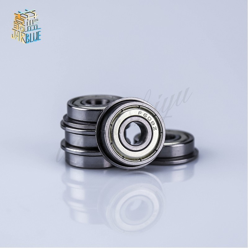 6x15x5 mm Flanged 25 PCS Ball Bearing Bearings F696z Metal Shielded F696ZZ