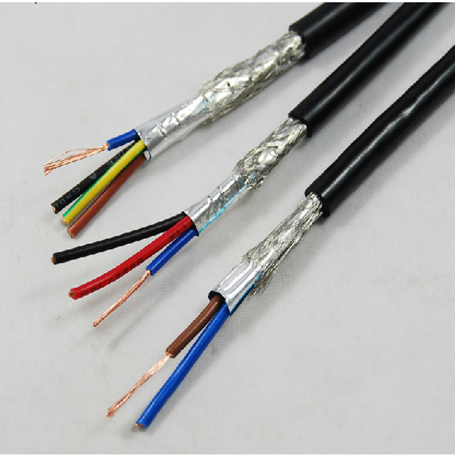 3 Wire Shielded Cable : Aliexpress buy farrow cable rvvp m high quality