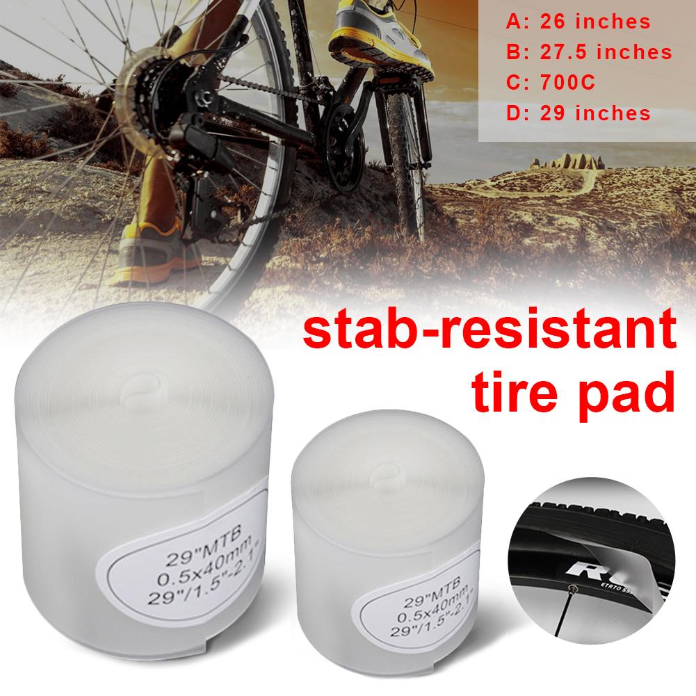 """2pcs/pack Bicycle Tire Liner Puncture Proof Belt Protection Pad For 700C 26"""" 27.5"""" 29"""" Stab-resistant Tire Pad Explosion-proof"""